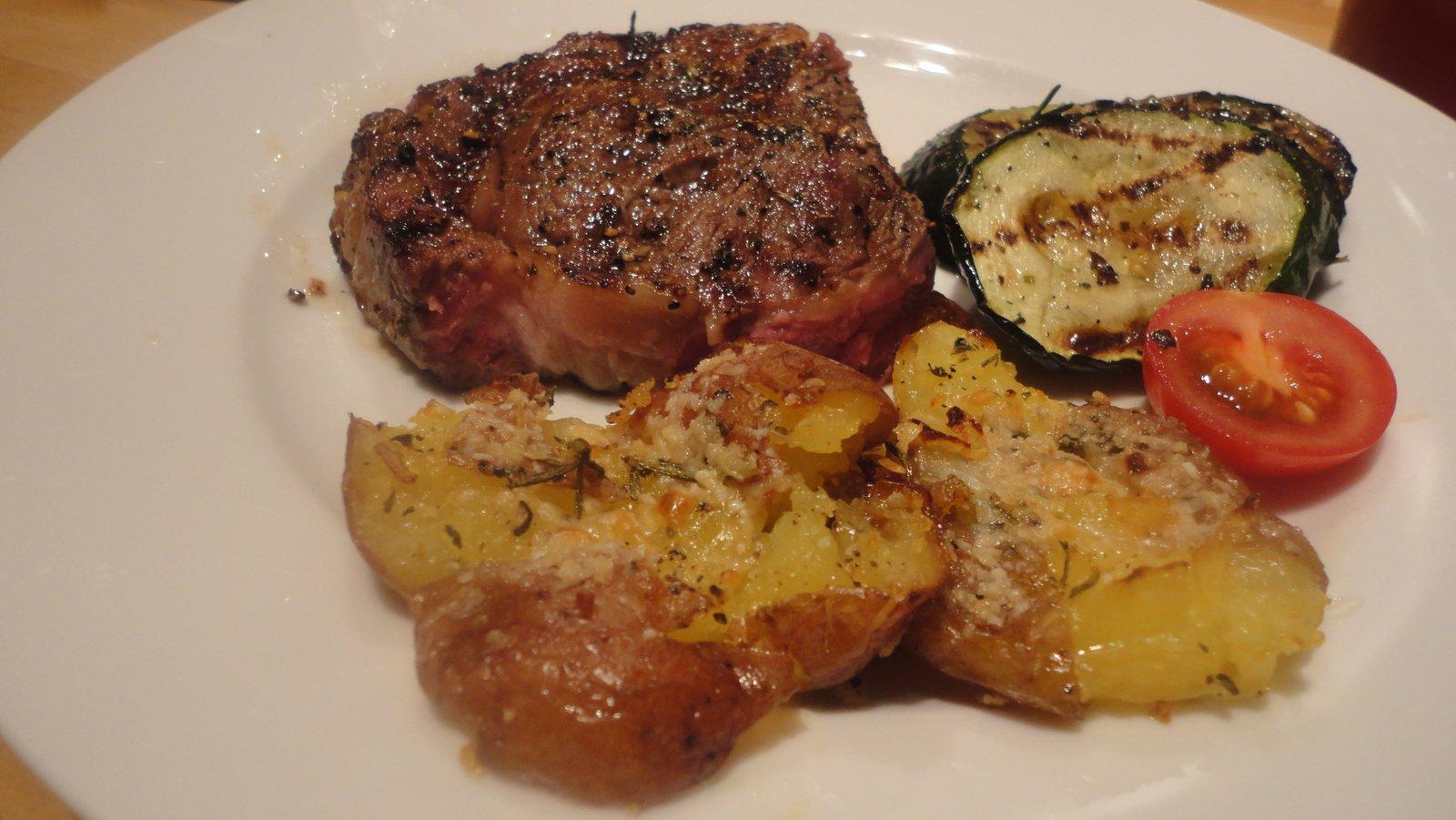 Recipe #78 | Crispy Smashed Potatoes