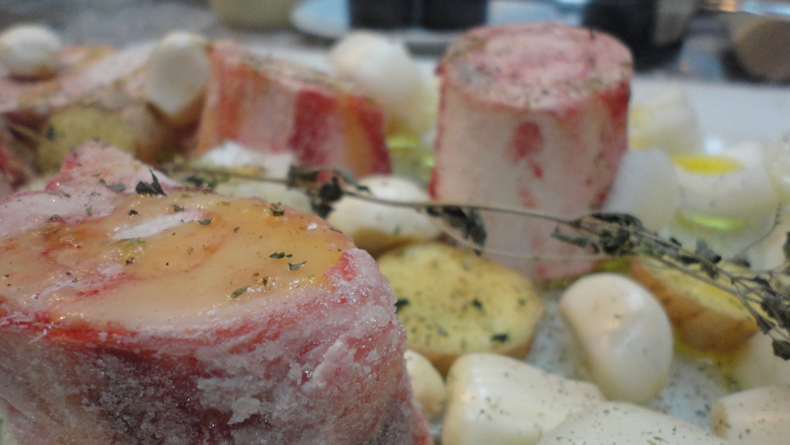Recipe #55   Roasted Grass Fed Beef Marrow Bones