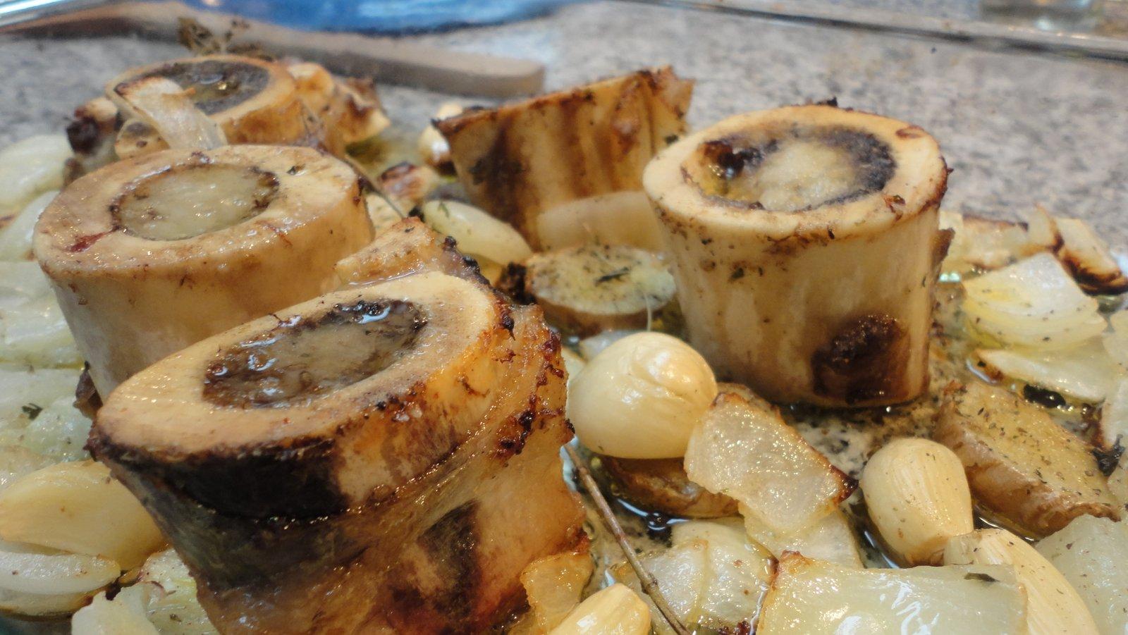 Recipe #55 | Roasted Grass Fed Beef Marrow Bones