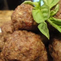 Recipe #46 | Sweet Maple Basil Venison Meatballs