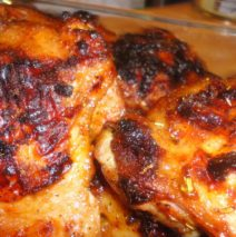 Recipe #72 | Maple Grilled Chicken Thighs